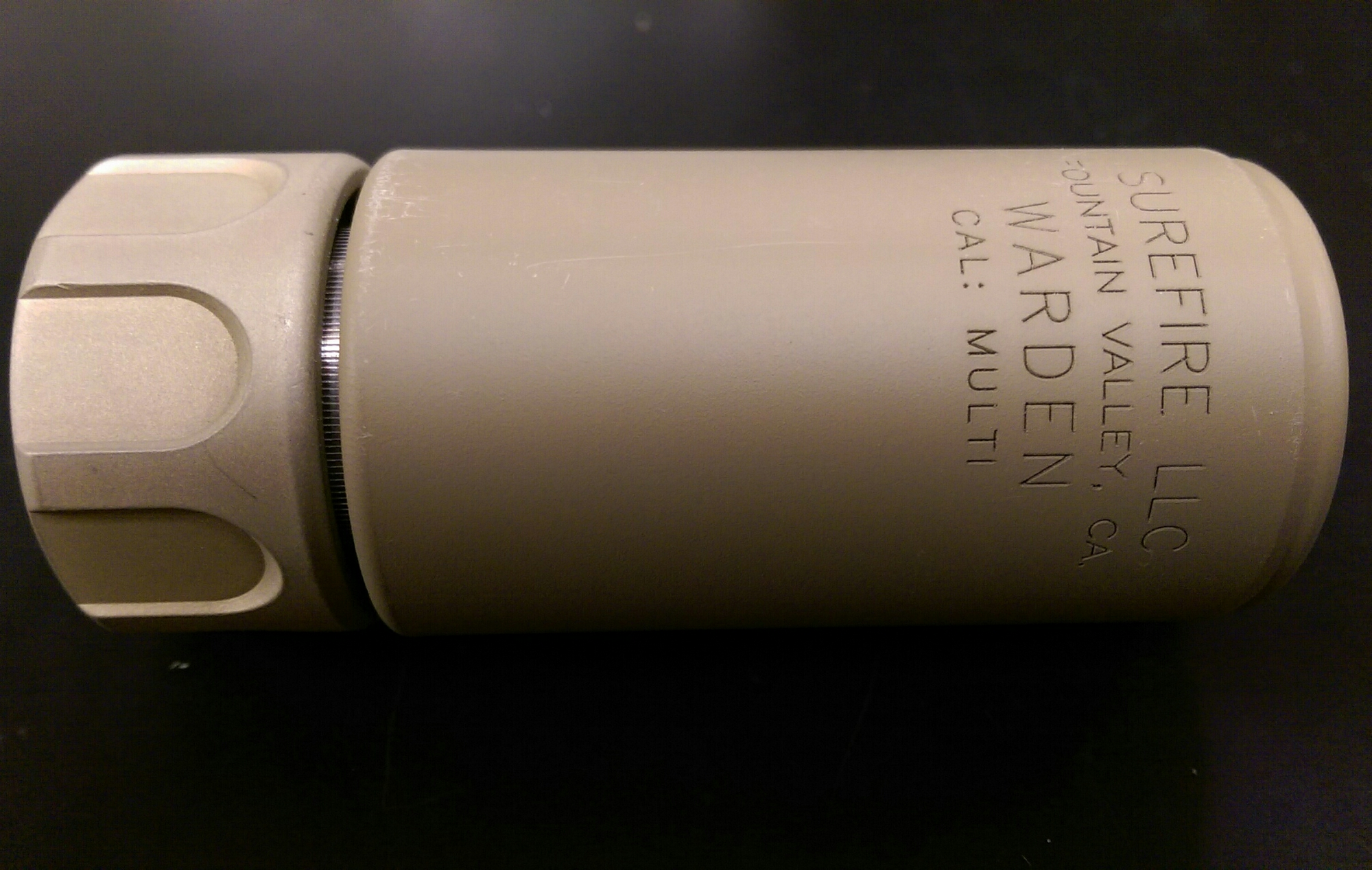 Surefire Warden Review – Fifty Shades of FDE